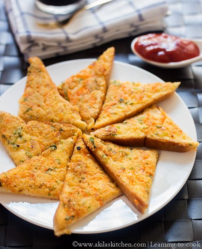 Sooji Bread Toast
