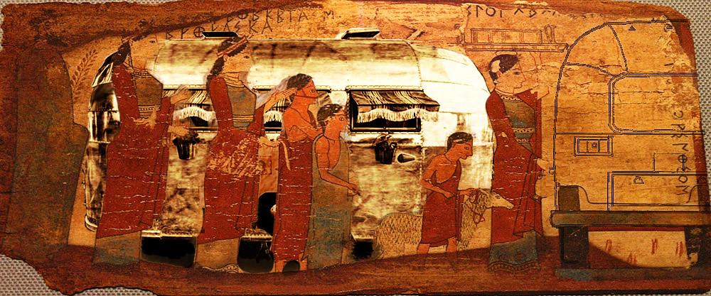 nama sacrifice aux charites pitsa panels  one of the few s