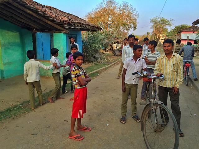 La aldea del Libro de la Selva en India