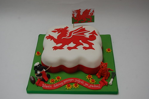 Wales Cake Beautiful Birthday Cakes