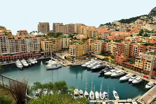 Monaco, März 2016. Ein paar Blicke aus der Möwen- äähh: Vogelperspektive. Foto Brigitte Stolle März 2016