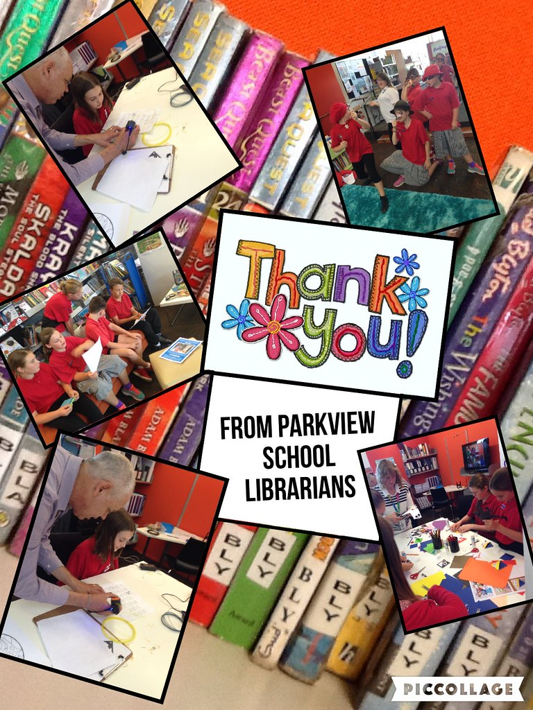 A thank you collage | Photos from School Librarian Day at ...