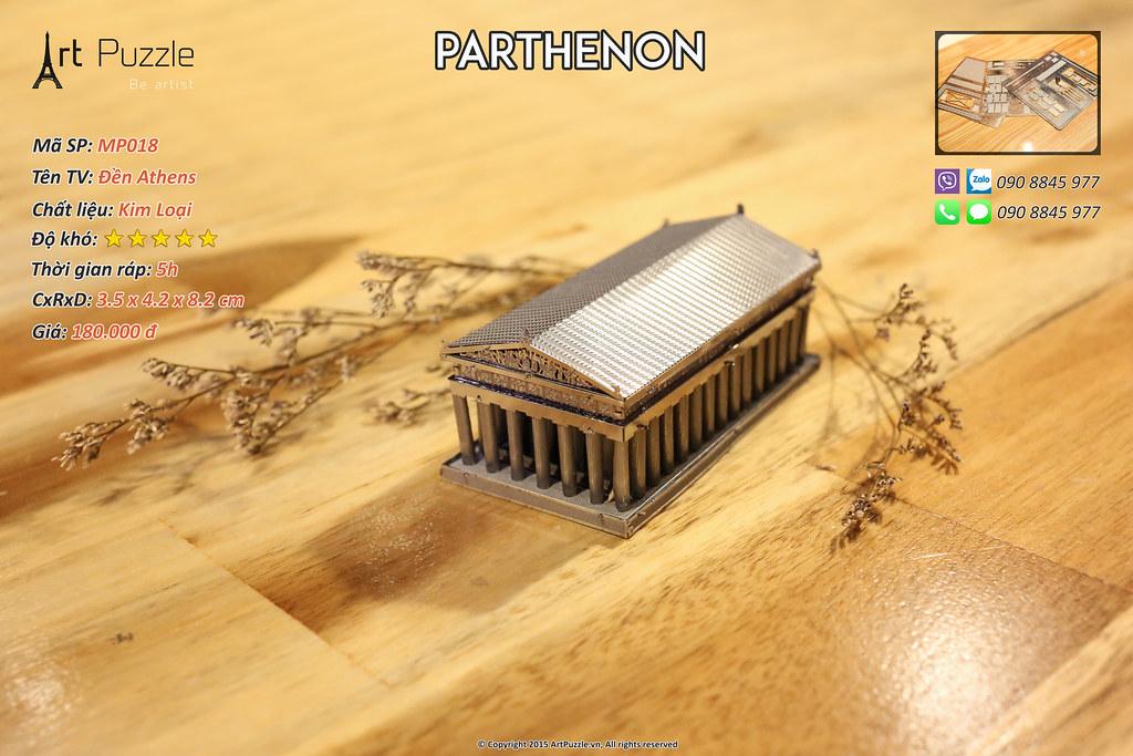 Art Puzzle - Chuyên mô hình kim loại (kiến trúc, tàu, xe tăng...) tinh tế và sắc sảo - 9