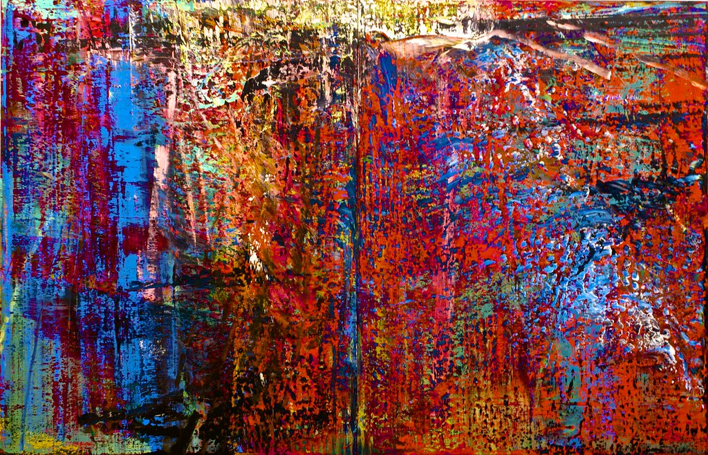 Abstraktes bild n 186 635 1987 gerhard richter 1932 flickr