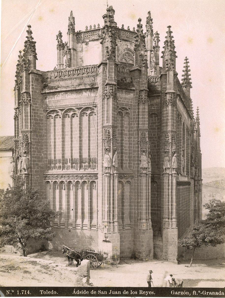 Ábside de San Juan de los Reyes por Rafael Garzón hacia 1897