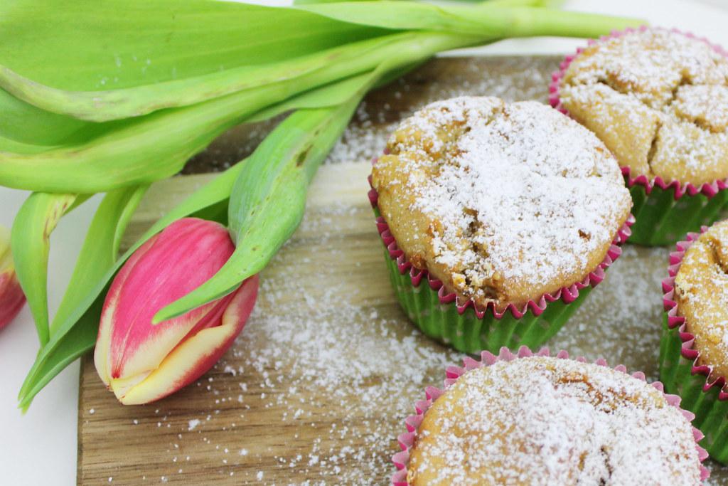 Detoxing Gesunde Bananen Haferflocken Muffins Kleinstadtloft