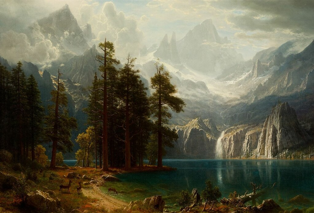Sierra Nevada by Albert Bierstadt, 1873