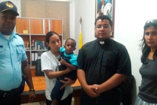Bebé de 2 años fue abandonado en la iglesia Inmaculada Concepción del centro de San Félix