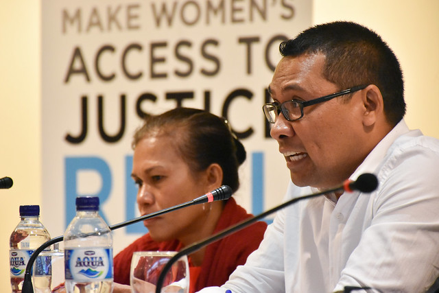 CEDAW National Result Sharing Timor Leste