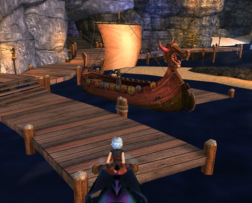New boat at the training grounds school of dragons how to train guess whos on the other side of the boat i think hes eret he had a above his head but when i clicked on him it showed me a quest for ccuart Images