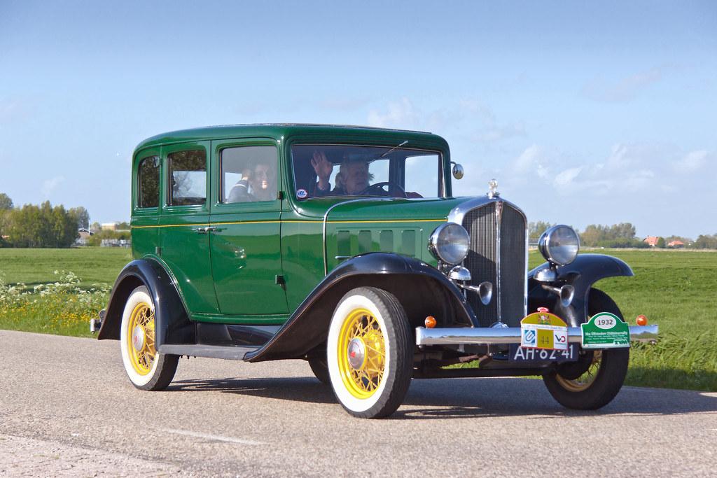 Pontiac Six Series 401 4 Dr Sedan 1932 4253