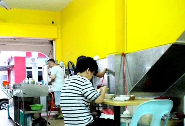 Wan Jia He kampua stall