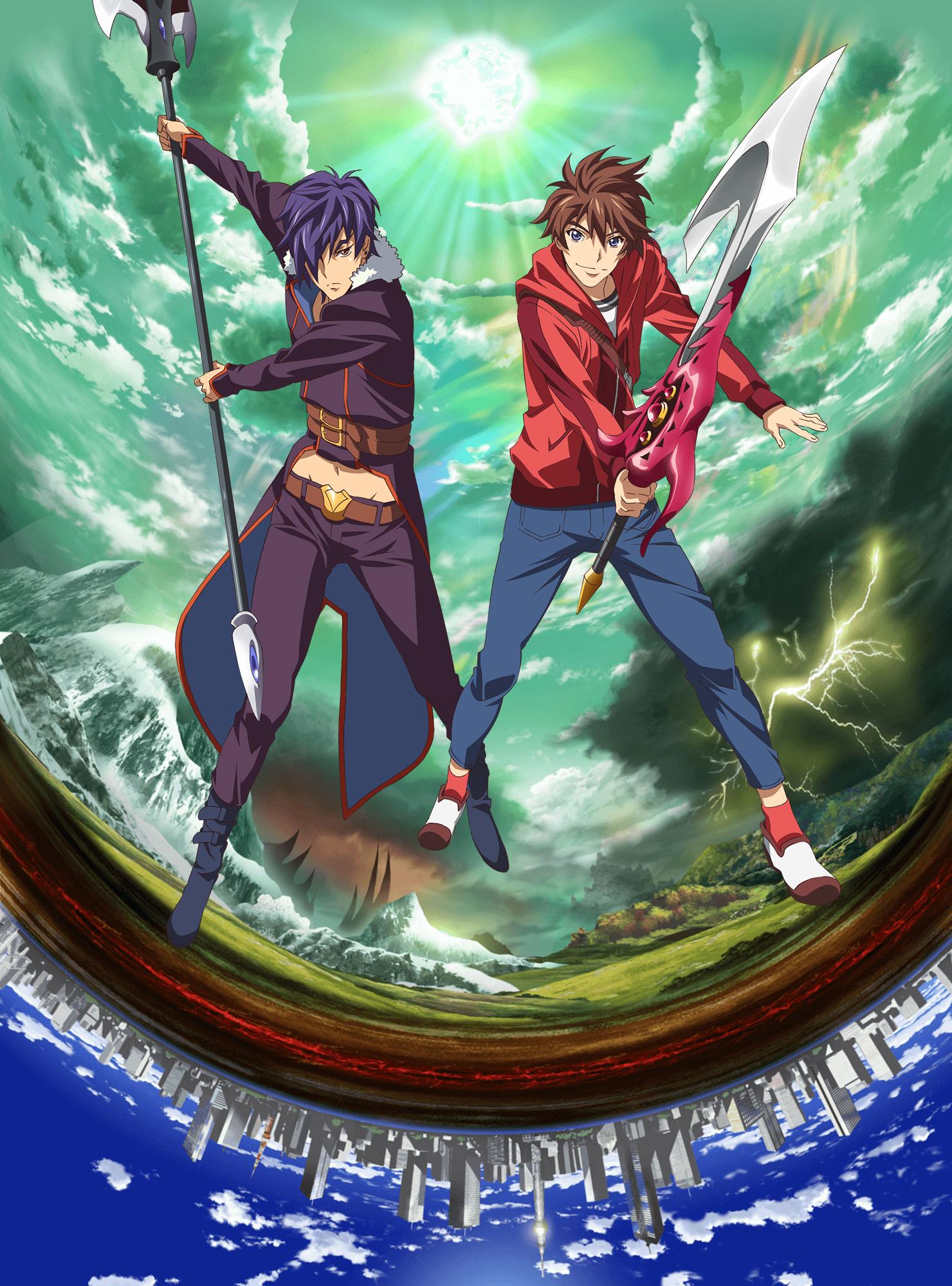 160128(3) -「和月伸宏×萩原一至×後藤圭二」打造4月科幻動畫《エンドライド》發表海報&第一批聲優!