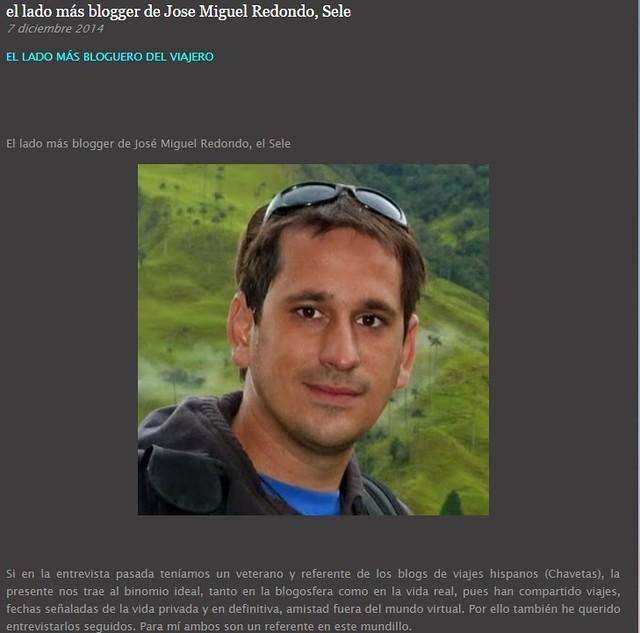 Entrevista en el blog de Héctor Navarro