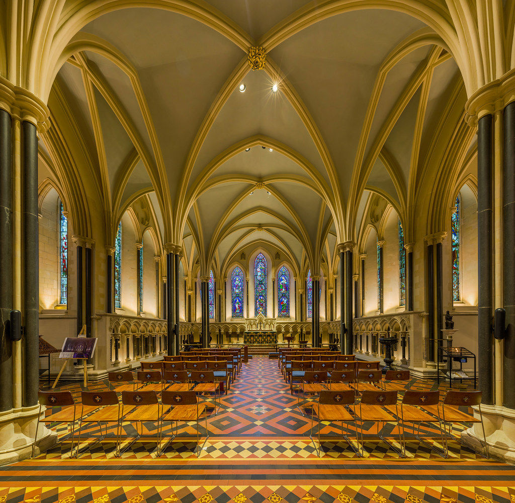 St Patrick's Cathedral Lady Chapel, Dublin, Ireland. Credit David Iliff