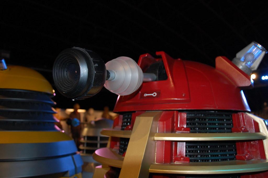 Dalek apuntando