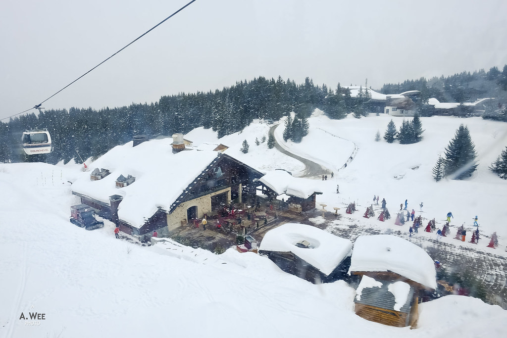 Ski lodge at Verdons