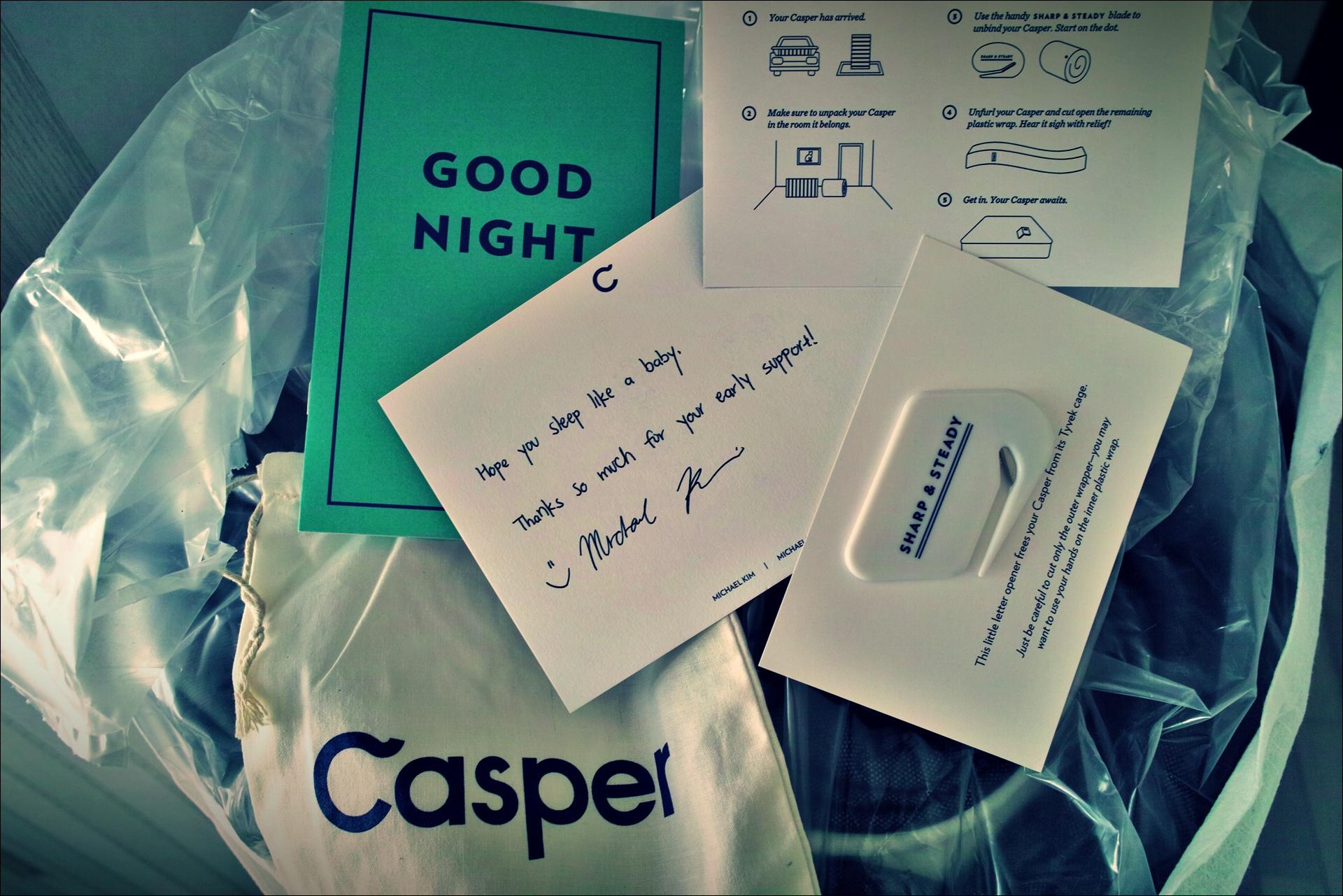 캐스퍼 패키지-'캐스퍼 메모리폼 매트리스 the casper mattress'