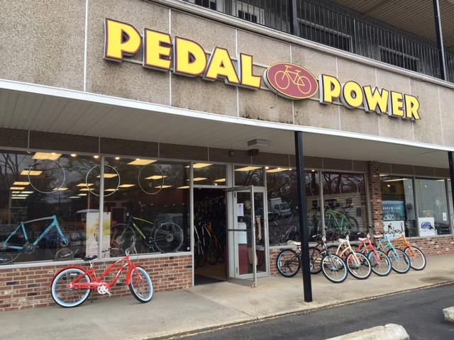 Pedal Power Vernon CT Exterior