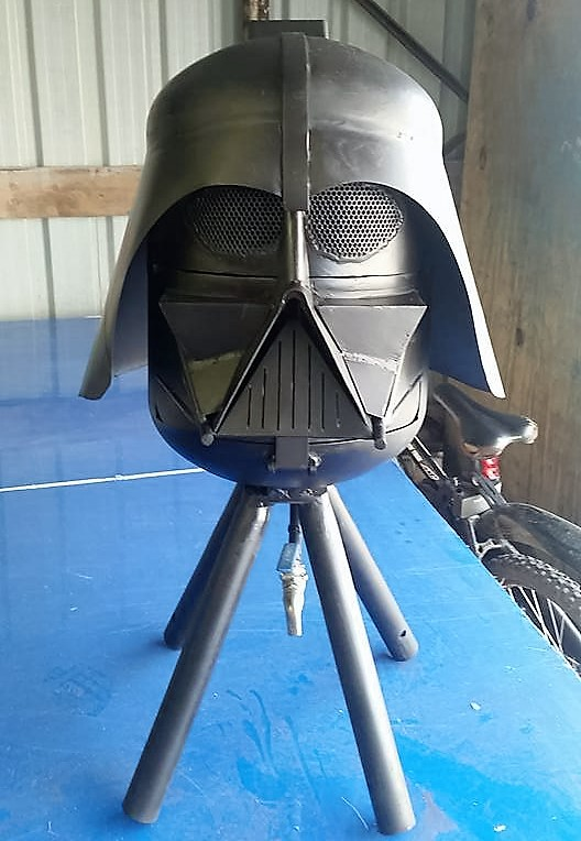 Star Wars Darth Vader burner by BC Bespoked