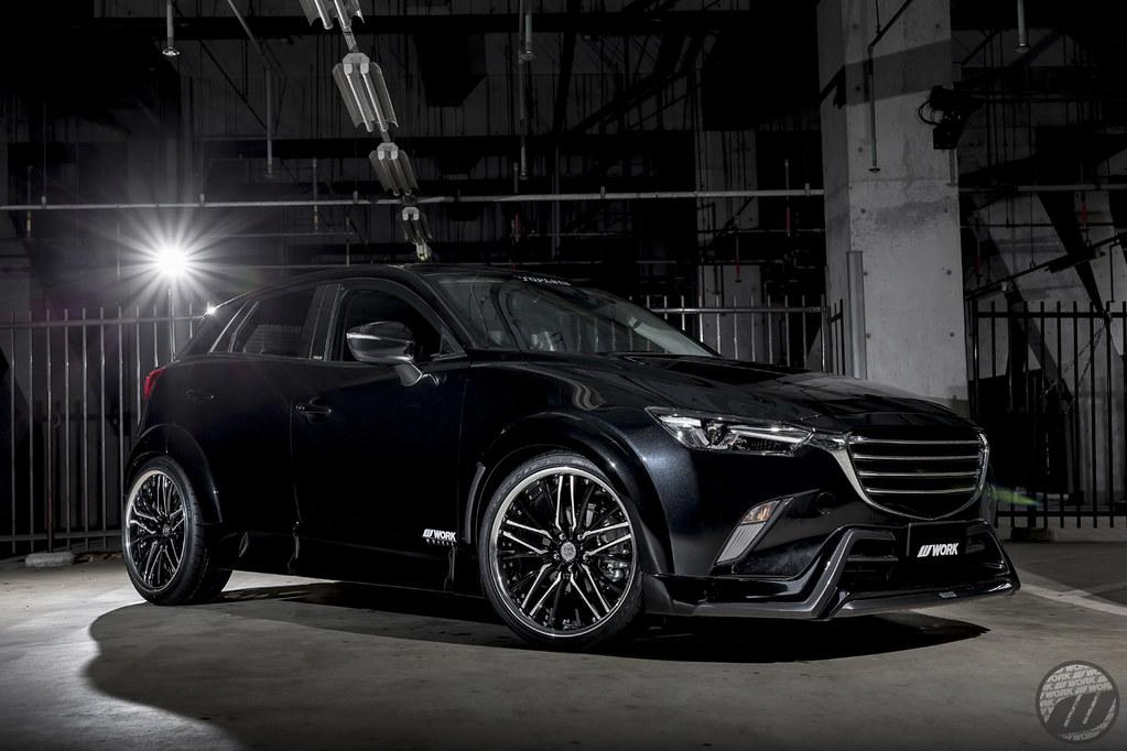 TOPLINE <b>Mazda</b> CX3 on WORK Balamung BG1   F:20x8.5J +24mm O ...
