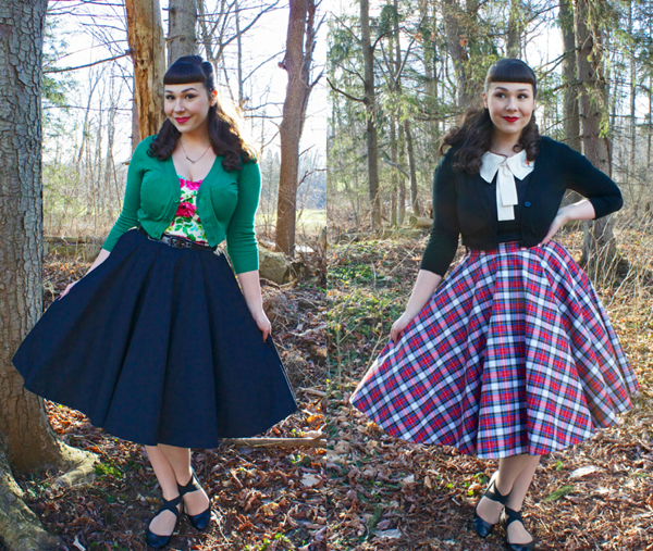 julie mollo retroversible skirt
