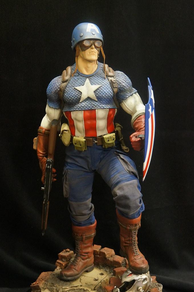 Custom Captain America Premium Format  24394530054_cd8979797d_b