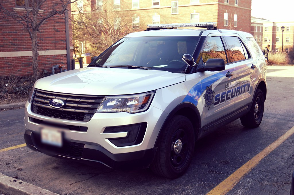 New Ford Explorer >> 2016 Ford Explorer Security SUV | Elmhurst College ...