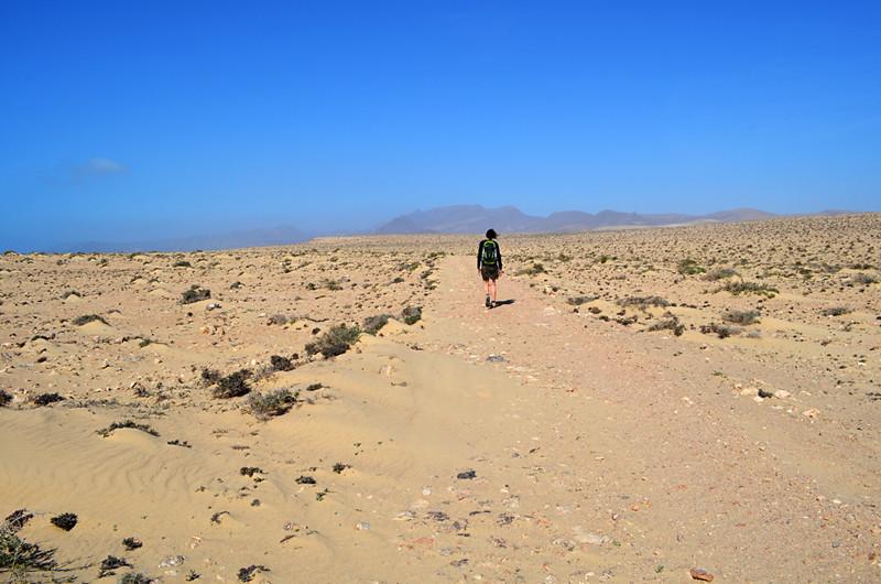 Flat path, Fuerteventura