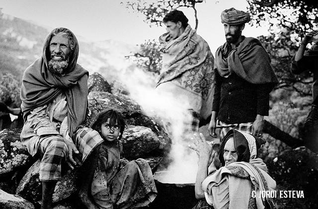 Gente de Socotra (Fotografía de Jordi Esteva)