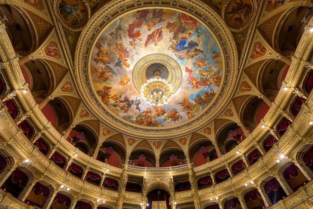 Hungarian State Opera House. Credit Miroslav Petrasko, flickr