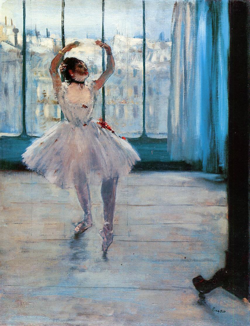 Dancer Posing by Edgar Degas, c.1878