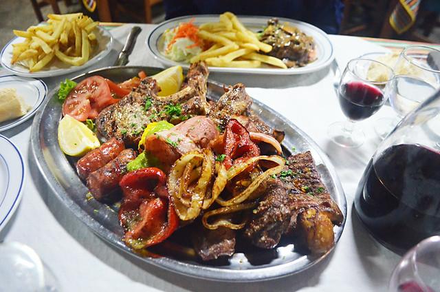 Meat platter, Tenerife