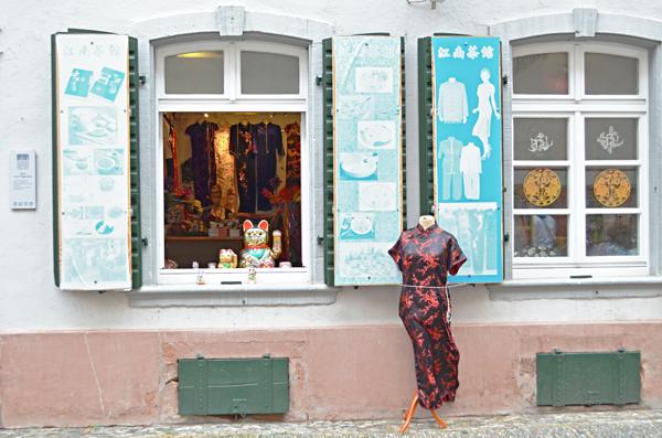 Individual shops, Altstadt, Freiburg, Germany