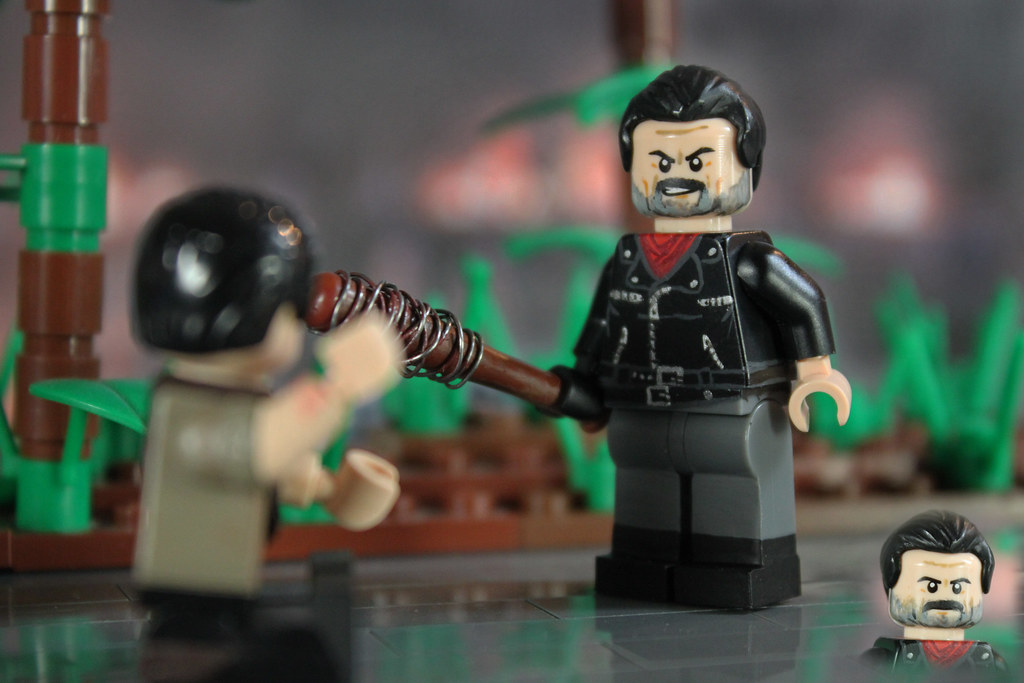 Custom Lego Negan By Billbobful After The Season Finale