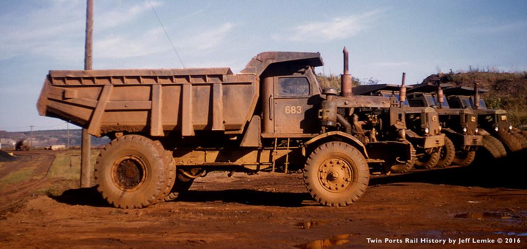 Euclid R24 Dump Trucks Minnesota S Mesabi Iron Range 1