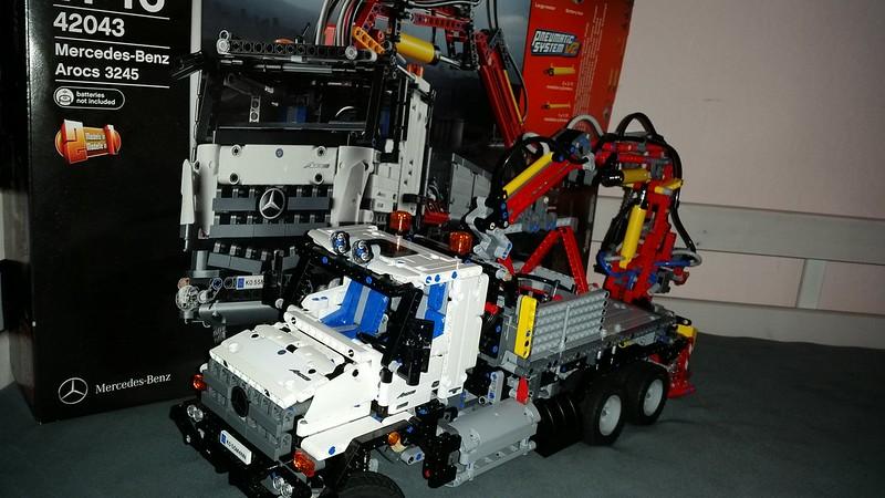 42043 c mb zetros moc lego technic and model team. Black Bedroom Furniture Sets. Home Design Ideas