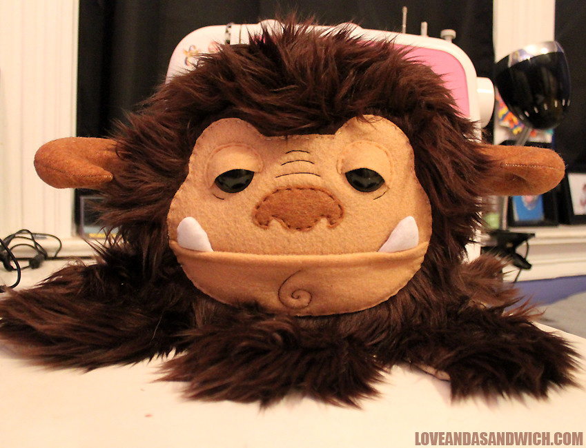 Labyrinth - Ludo plush by LoveAndASandwich
