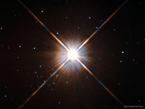 VCSE - A legközelebbi csillag - NASA/Hubble