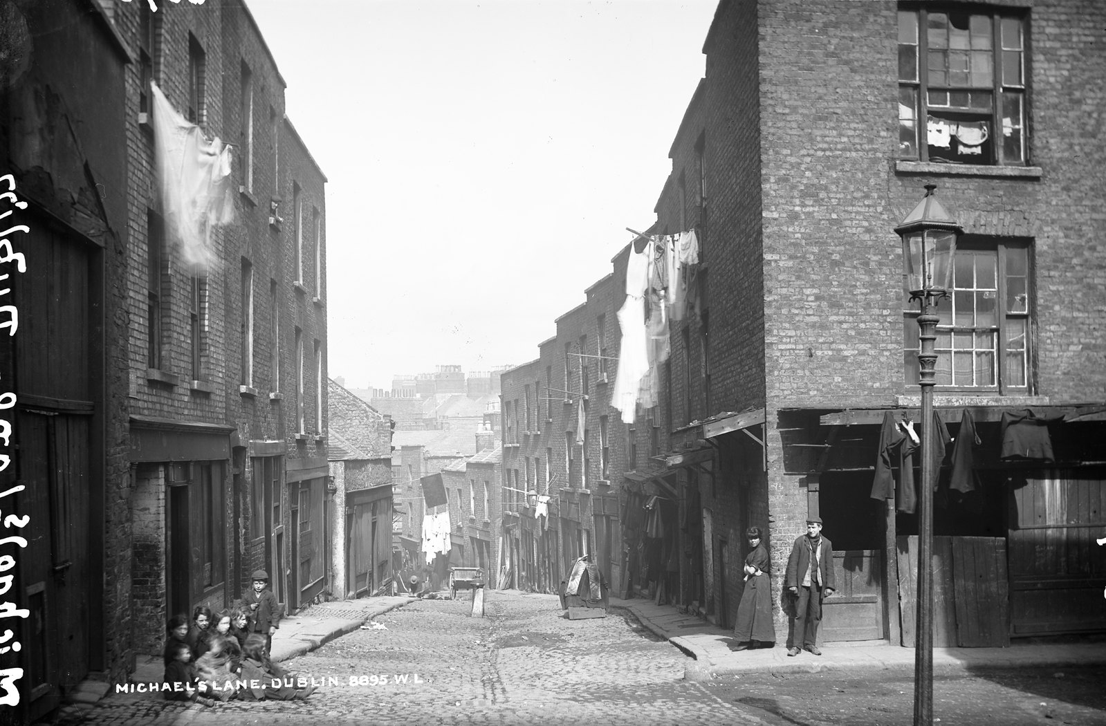Michael's Lane, Dublin City | by National Library of Ireland on The Commons