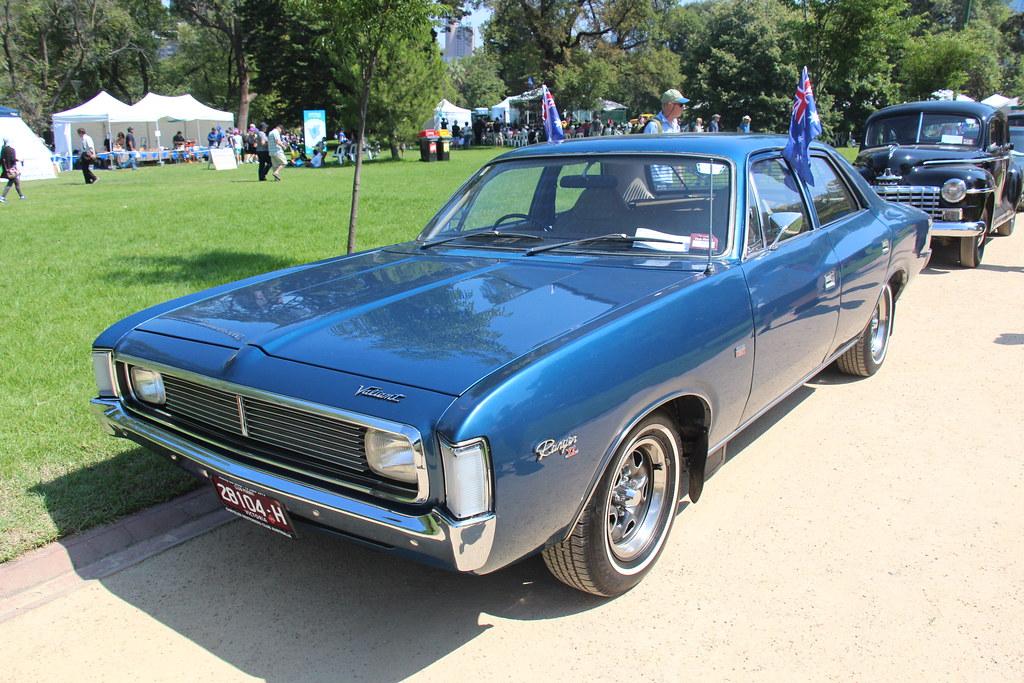 1971 Chrysler Valiant Vh Ranger Xl Sedan Regency Blue The Flickr