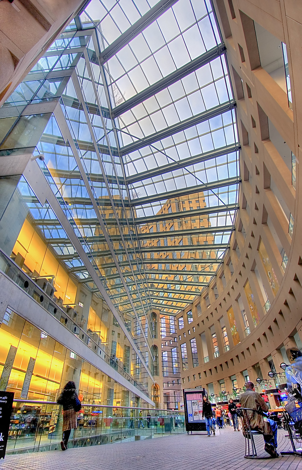 Vancouver Public Library's central branch, Vancouver, Canada. Image credit Darren Stone.
