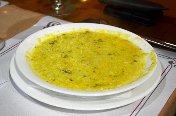 Cheese soup, El Hierro, Canary Islands