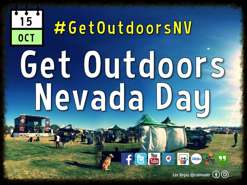 October 15 is Get Outdoors Nevada Day @getoutdoorsnv @CityofLasVegas #GetOutdoorsNV