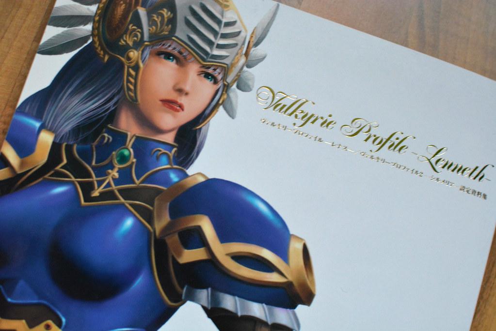 Valkyrie Pofile Lenneth Art Book