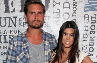 Kourtney Kardashian encontró a Scott Disick con una de sus hermanas en la cama