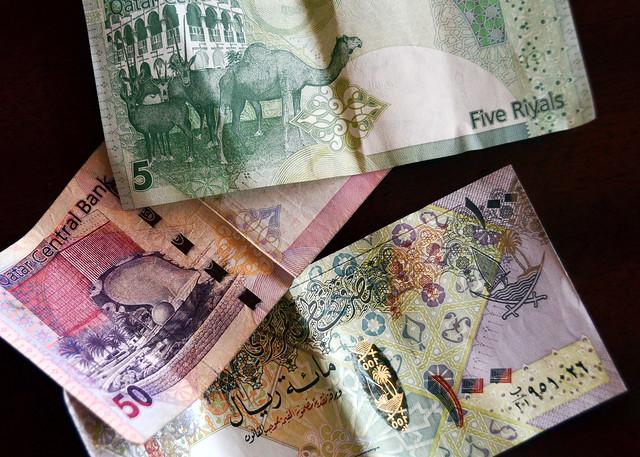 Billetes Qataríes