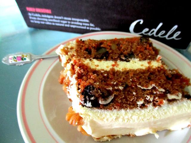 Cedele, Singapore carrot cake