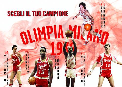 Scegliete l'ala forte dell'Olimpia  pre 1990