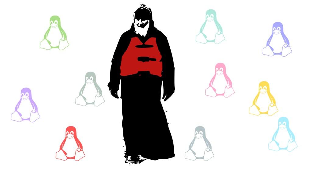 Патриарх с пингвинами